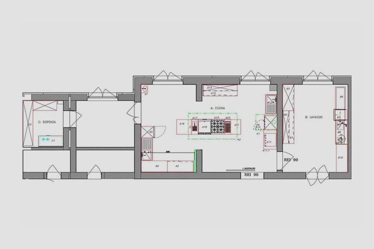 Progettazione impianti di cucine ristoranti e alberghi | Casagrande