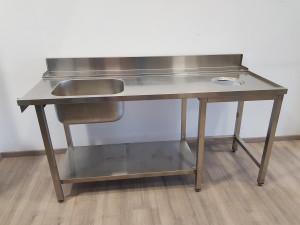 TAVOLO ENTRATA LAVASTOVIGLIE DX 180 - Usato Casagrande Cucine